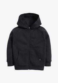 Next - BLACK ZIP THROUGH HOODY (3-16YRS) - Zip-up hoodie - blue - 0