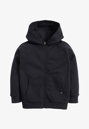BLACK ZIP THROUGH HOODY (3-16YRS) - Zip-up hoodie - blue