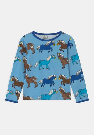 HORSES UNISEX - Long sleeved top - blue grotto