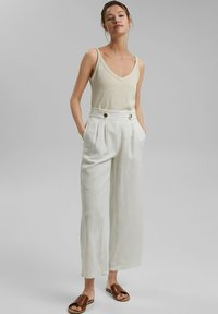 Esprit - Trousers - off white - 1