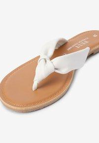 Next - T-bar sandals - white - 2