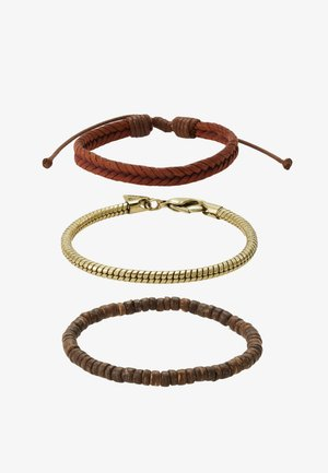 QUAYS BRACELET 3 PACK - Bracelet - brown