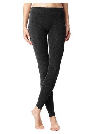 Leggings - Stockings - Grey Melange