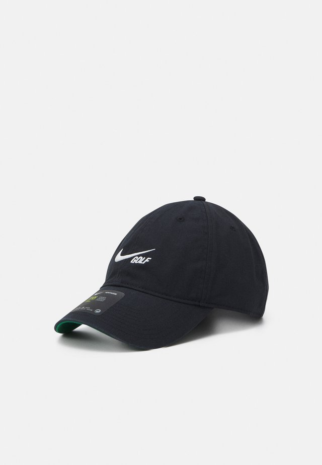WASHED SOLID - Caps - black/anthracite/sail