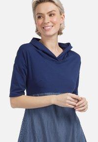 HELMIDGE - Day dress - schmalband blau - 2