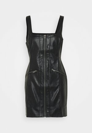 JOHNNY VEGAN DRESS - Vestito estivo - black