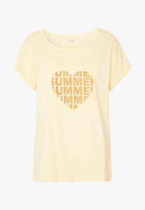Print T-shirt - dusty sun