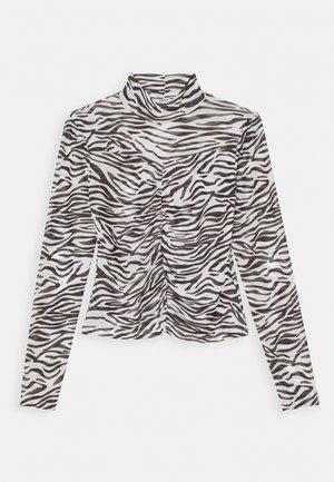 ONLTRACY HIGHNECK - Long sleeved top - black