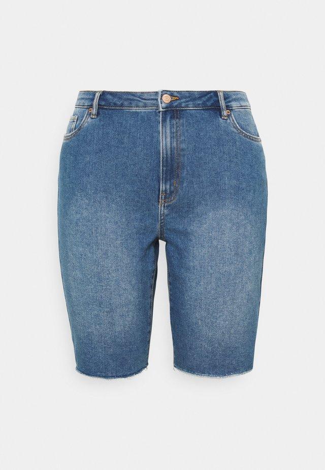 VMLOA FAITH  - Shorts di jeans - medium blue