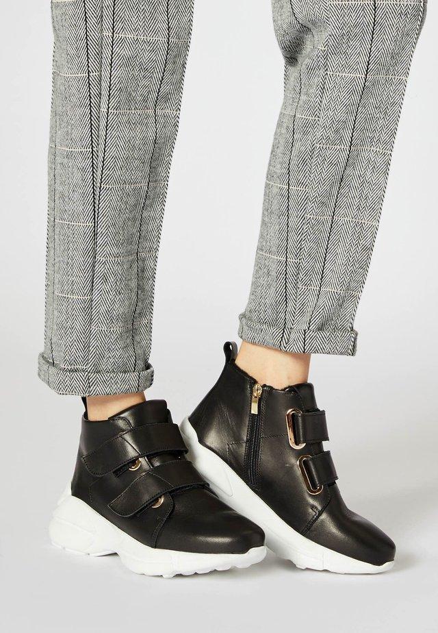 Zapatillas altas - noir