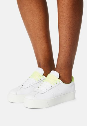 LEAW - Trainers - white/yellow