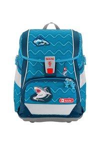 Step by Step - 2IN1 SET - Schooltas set - angry shark - 1
