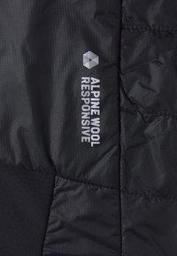 Salewa - ORTLES HYBRID - Outdoor jacket - black out - 5