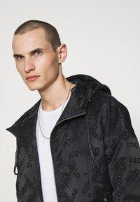 Emporio Armani - BLOUSON JACKET - Summer jacket - black - 3