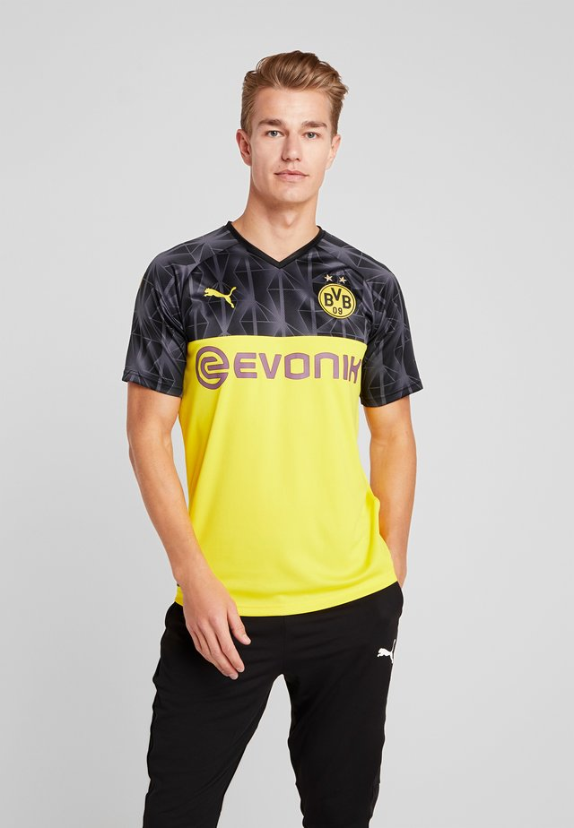 BVB BORUSSIA DORTMUND CUP  - Club wear - cyber yellow/black/ebony