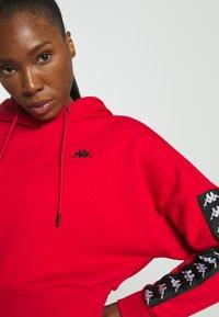 Kappa - JUNJA - Sweatshirt - racing red - 3