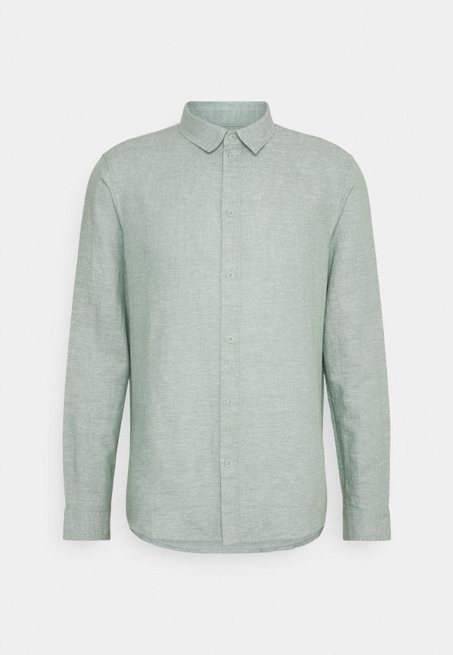 Shirt - mottled light green