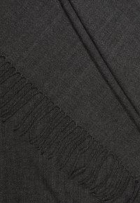 ONLY - ONLANNALI SCARF  - Scarf - dark grey melange - 2