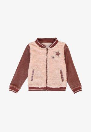 SMALL  - Zip-up sweatshirt - peach pink