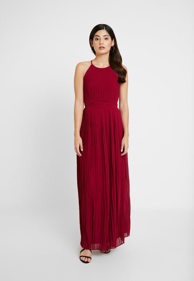 POLINA - Společenské šaty - dark red