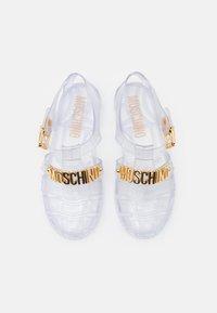 MOSCHINO - Sandals - trasparente - 4