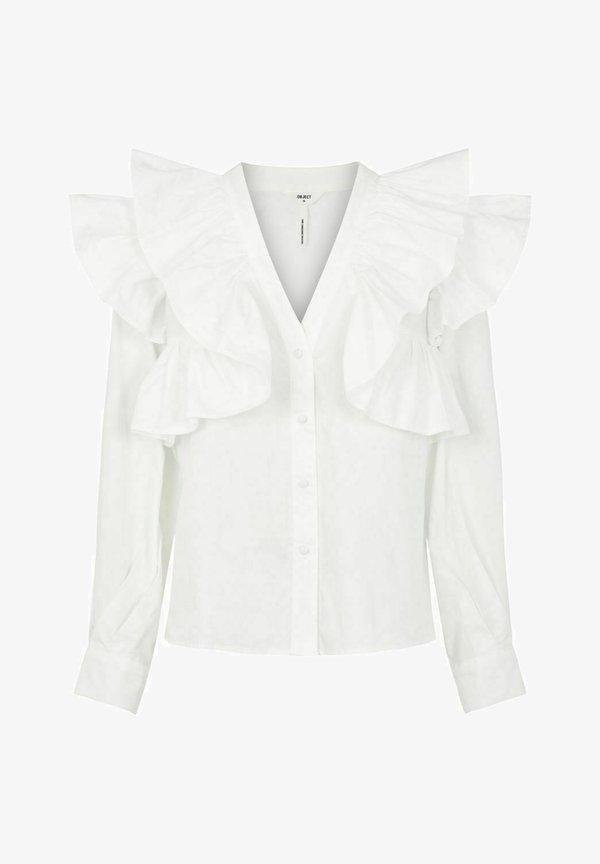 Object Bluzka - bright white/mleczny OJYA