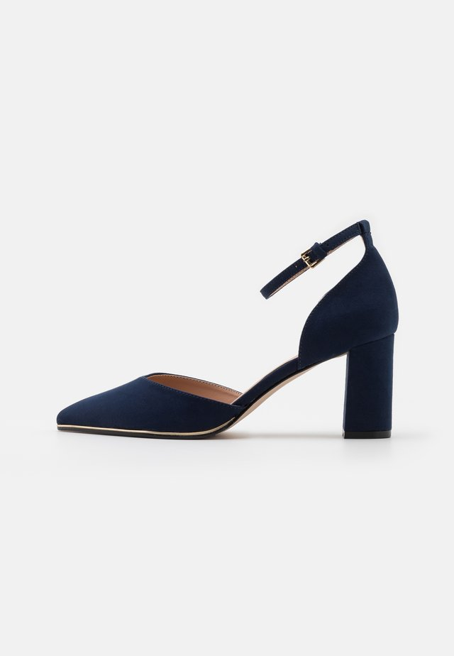 WIDE FIT EVOKE - Tacones - navy
