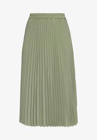 Selected Femme Petite - SLFJOSIE MIDI SKIRT PETITE - A-line skirt - oil green - 3