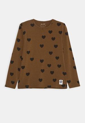 HEARTS GRANDPA - T-shirt à manches longues - brown