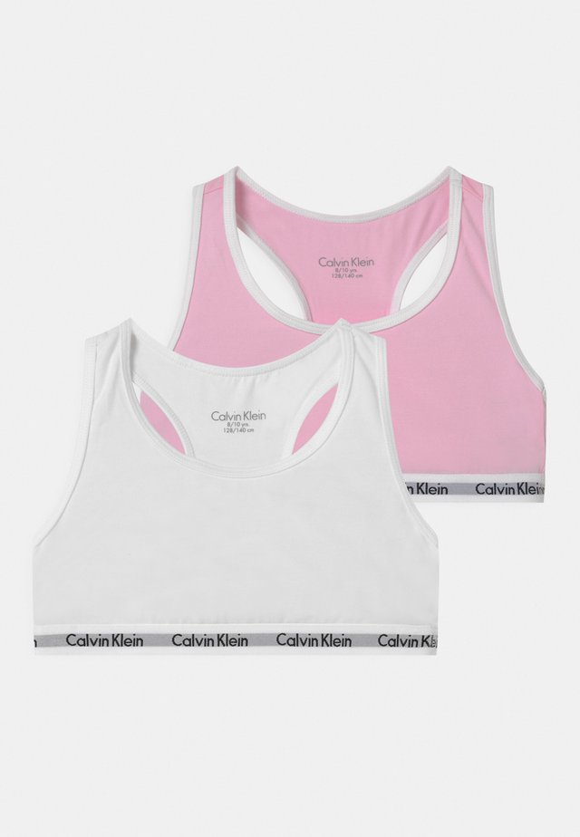 2 PACK - Top - romantic pink/white