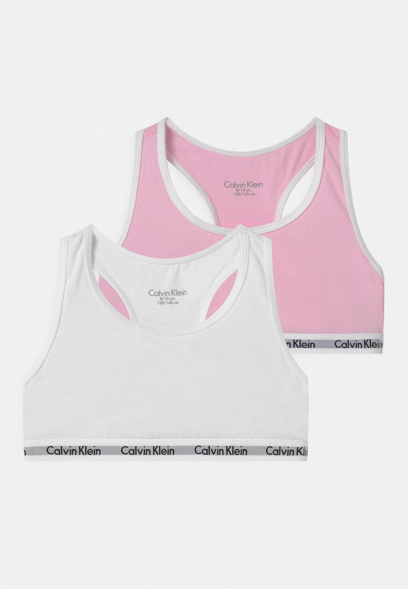 Calvin Klein Underwear - 2 PACK - Bustier - romantic pink/white