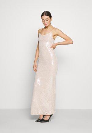 SEQUIN GOWN - Společenské šaty - champagne