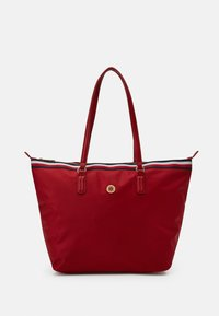 Tommy Hilfiger - POPPY TOTE CORP - Tote bag - red - 0