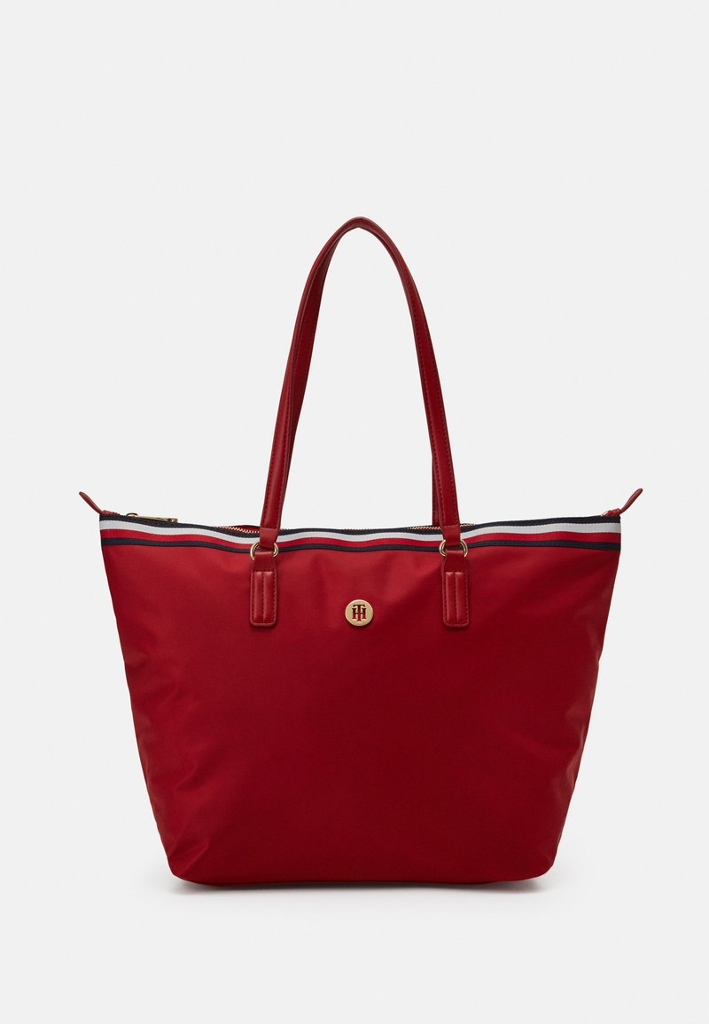 Tommy Hilfiger - POPPY TOTE CORP - Tote bag - red