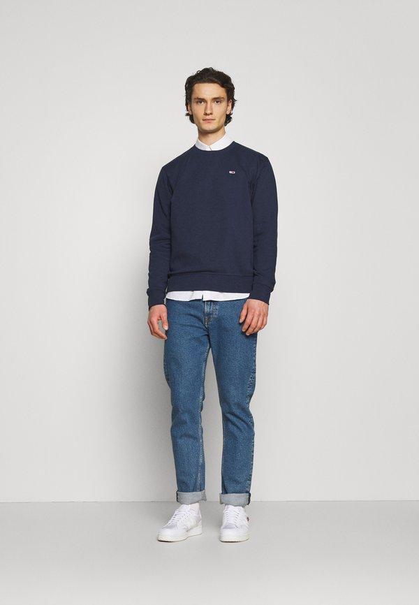 Tommy Jeans REGULAR C NECK - Bluza - twilight navy/granatowy Odzież Męska IRSD