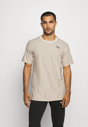 MENS STUDIO TEE - Print T-shirt - peyote heather
