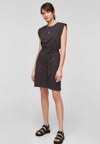 QS by s.Oliver - Jersey dress - black - 1