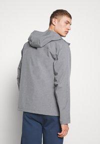 The North Face - M DRYZZLE FUTURELIGHT JACKET - Hardshell jacket - medium grey heather - 2
