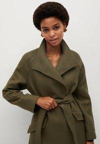 Mango - VENUS - Classic coat - khaki - 3
