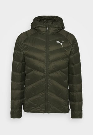 PWRWARM PACKLITE JACKET - Down jacket - forest night