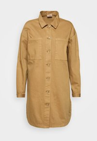VMMETIS - Short coat - tobacco brown