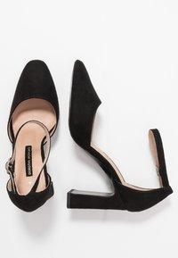 Dorothy Perkins - DANDIE FLARED OPEN COURT - High heels - black - 3