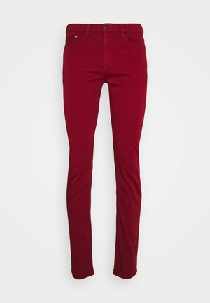 MENS - Slim fit jeans - red