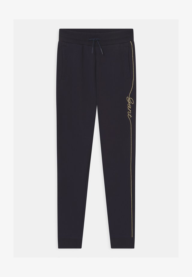 SCRIPT - Tracksuit bottoms - evening blue