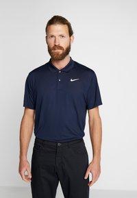 Nike Golf - VICTORY - Tekninen urheilupaita - obsidian/white - 0