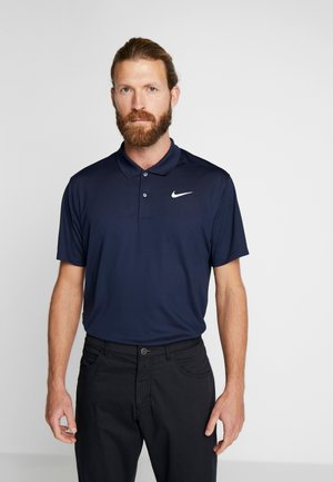 DRY VICTORY SOLID - Sports shirt - obsidian/white