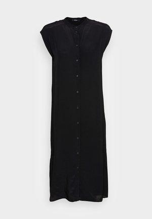 WIMILA - Shirt dress - black