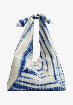 TIEDYE - Across body bag - blau
