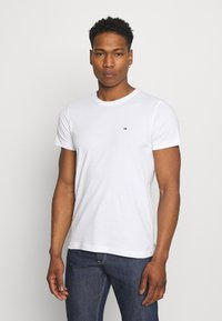 Tommy Jeans - CNECK TEES 2 PACK - T-Shirt basic - white / black - 1