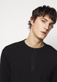 rag & bone - GIBSON  - T-shirt à manches longues - black - 3